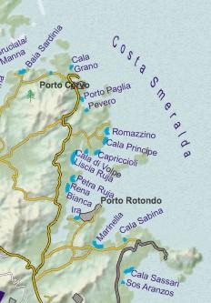 Karte Sardinien Strände.Top 10 Punto Medio Noticias Sardinien Karte Strände