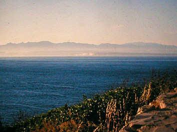 Blick auf Korsika